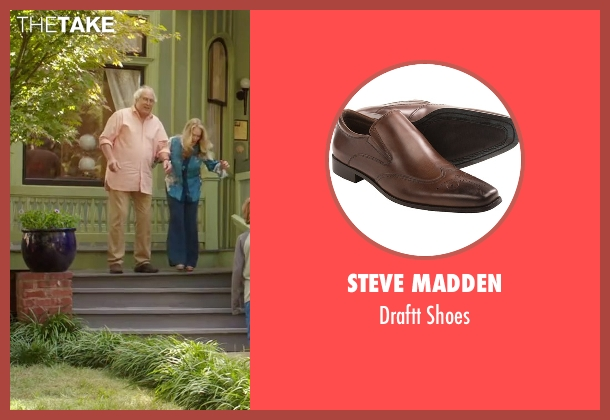 Steve Madden brown shoes from Vacation seen with Chevy Chase (Clark Griswold)