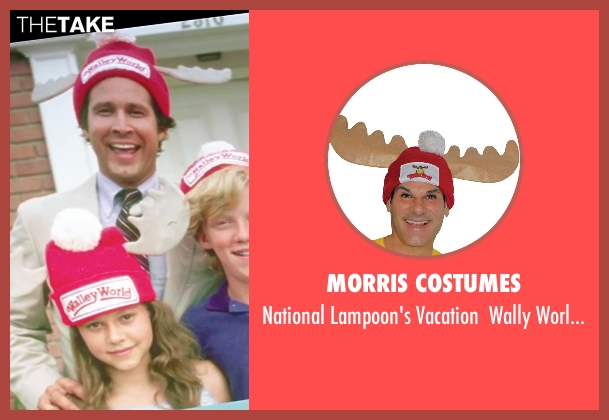 Morris Costumes hat from Vacation seen with Chevy Chase (Clark Griswold)