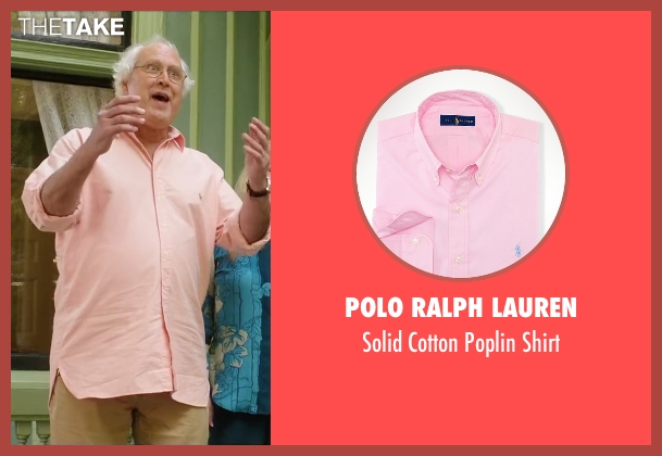 Polo Ralph Lauren pink shirt from Vacation seen with Chevy Chase (Clark Griswold)