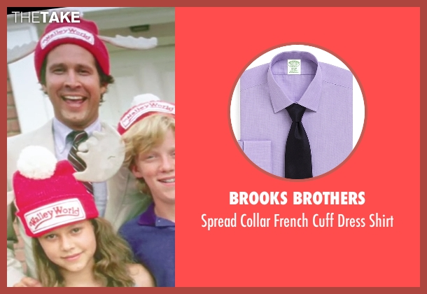 Brooks Brothers purple shirt from Vacation seen with Chevy Chase (Clark Griswold)
