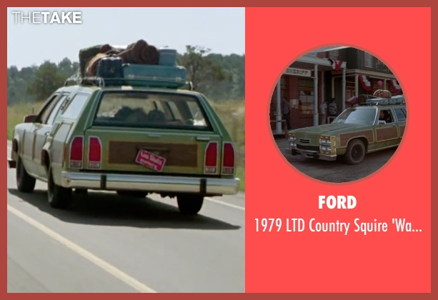 Ford truckster' from Vacation seen with Chevy Chase (Clark Griswold)