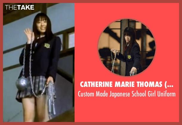 Catherine Marie Thomas (Costume Designer) uniform from Kill Bill: Vol. 1 seen with Chiaki Kuriyama (Gogo Yubari)