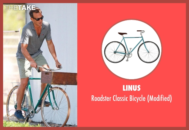 Linus bicycle from Flaked seen with Chip (Will Arnett)