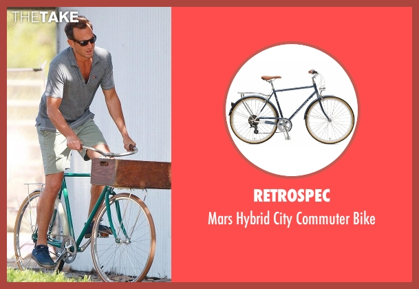 Retrospec bike from Flaked seen with Chip (Will Arnett)