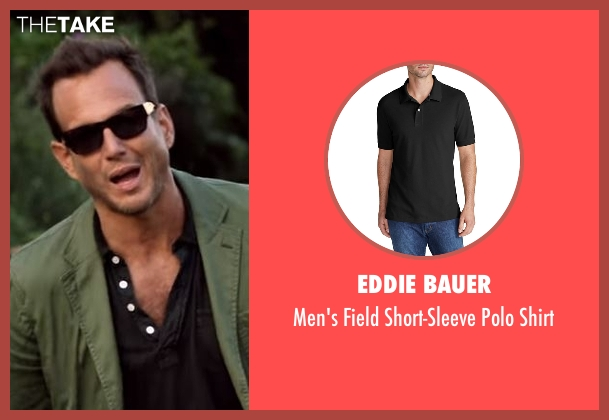 Eddie Bauer black shirt from Flaked seen with Chip (Will Arnett)