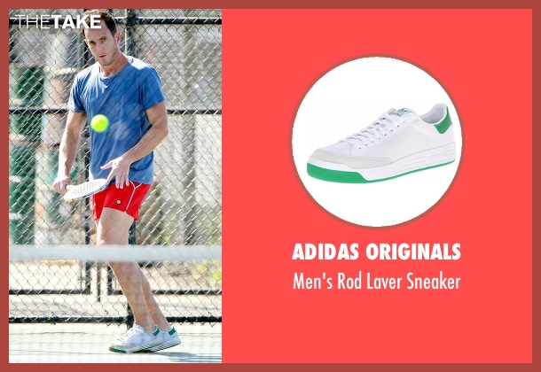 Adidas Originals white sneaker from Flaked seen with Chip (Will Arnett)