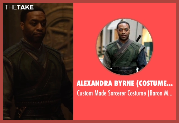 Alexandra Byrne (Costume Designer) costume from Doctor Strange seen with Chiwetel Ejiofor (Baron Mordo)