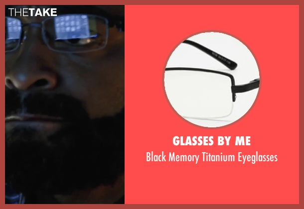 Glasses By Me black eyeglasses from Secret in Their Eyes seen with Chiwetel Ejiofor (Ray)