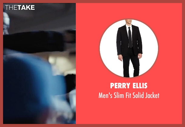 Perry Ellis black jacket from Secret in Their Eyes seen with Chiwetel Ejiofor (Ray)