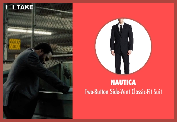 Nautica black suit from Secret in Their Eyes seen with Chiwetel Ejiofor (Ray)