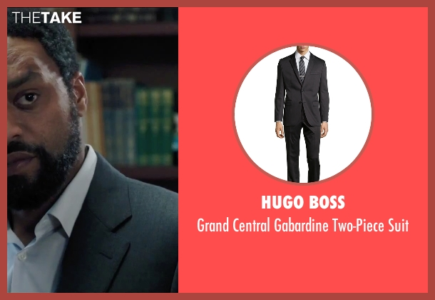 Hugo Boss black suit from Secret in Their Eyes seen with Chiwetel Ejiofor (Ray)