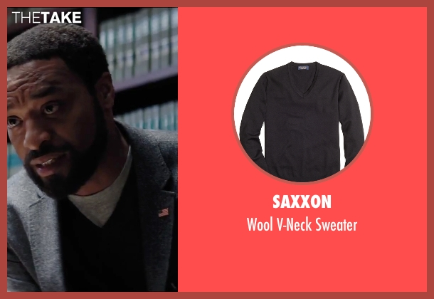 Saxxon black sweater from Secret in Their Eyes seen with Chiwetel Ejiofor (Ray)