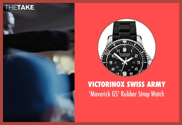 Victorinox Swiss Army black watch from Secret in Their Eyes seen with Chiwetel Ejiofor (Ray)