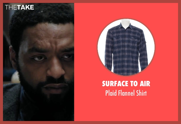 Surface To Air blue shirt from Secret in Their Eyes seen with Chiwetel Ejiofor (Ray)