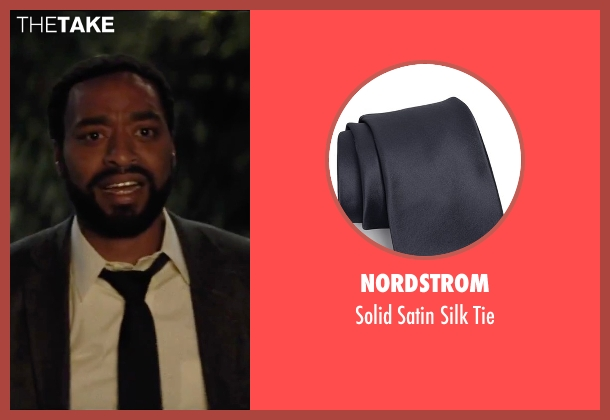 Nordstrom blue tie from Secret in Their Eyes seen with Chiwetel Ejiofor (Ray)