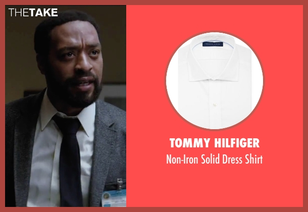 Tommy Hilfiger white shirt from Secret in Their Eyes seen with Chiwetel Ejiofor (Ray)