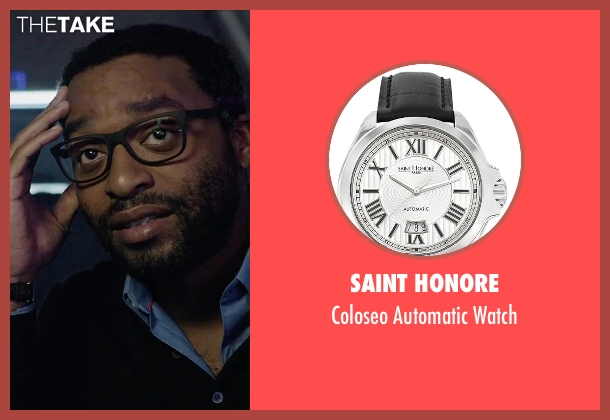Saint Honore black watch from The Martian seen with Chiwetel Ejiofor (Venkat Kapoor)