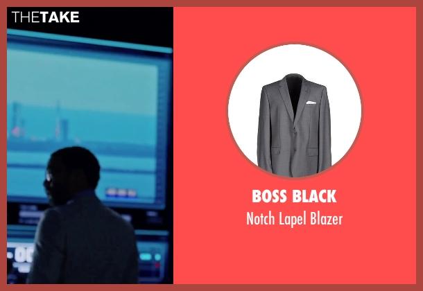 Boss Black gray blazer from The Martian seen with Chiwetel Ejiofor (Venkat Kapoor)