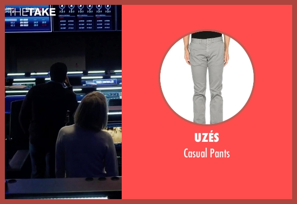 Uzés gray pants from The Martian seen with Chiwetel Ejiofor (Venkat Kapoor)
