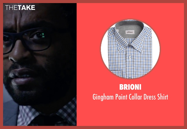 Brioni white shirt from The Martian seen with Chiwetel Ejiofor (Venkat Kapoor)