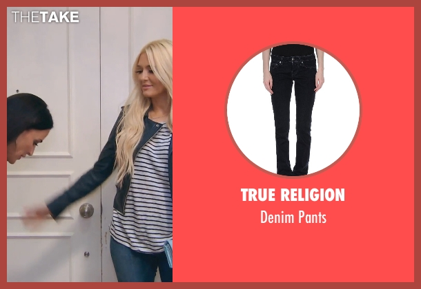 True Religion black pants from (500) Days of Summer seen with Chloë Grace Moretz (Rachel)