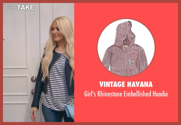 Vintage Havana hoodie from (500) Days of Summer seen with Chloë Grace Moretz (Rachel)