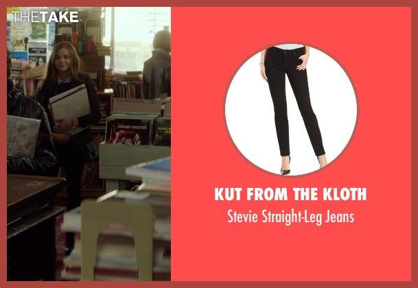 Kut from the Kloth black jeans from If I Stay seen with Chloë Grace Moretz (Mia Hall)