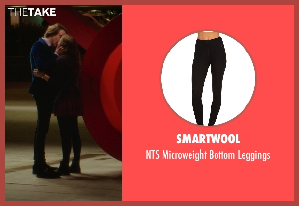 Smartwool black leggings from If I Stay seen with Chloë Grace Moretz (Mia Hall)