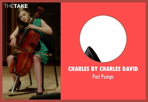 Charles by Charles David black pumps from If I Stay seen with Chloë Grace Moretz (Mia Hall)