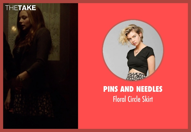 Pins And Needles black skirt from If I Stay seen with Chloë Grace Moretz (Mia Hall)