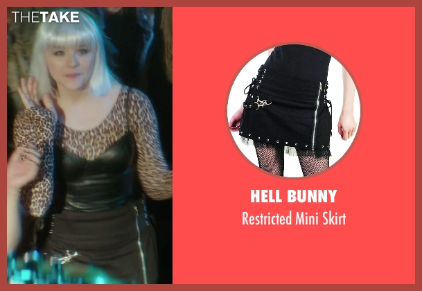 Hell Bunny black skirt from If I Stay