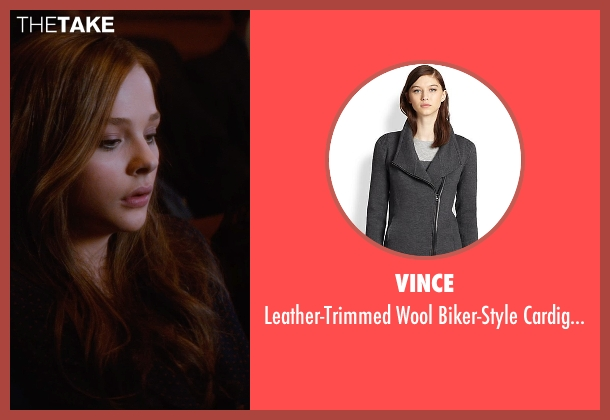 Vince black sweater from If I Stay seen with Chloë Grace Moretz (Mia Hall)