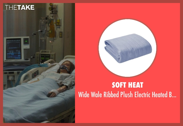 Soft Heat blanket from If I Stay seen with Chloë Grace Moretz (Mia Hall)