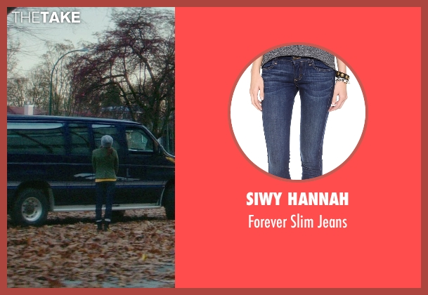 Siwy Hannah blue jeans from If I Stay seen with Chloë Grace Moretz (Mia Hall)