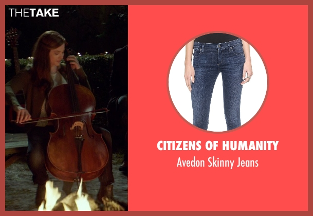 Citizens of Humanity blue jeans from If I Stay seen with Chloë Grace Moretz (Mia Hall)