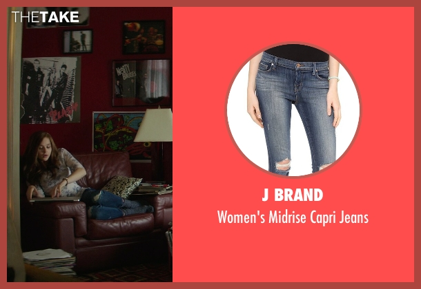 J Brand blue jeans from If I Stay seen with Chloë Grace Moretz (Mia Hall)