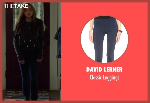 David Lerner blue leggings from If I Stay seen with Chloë Grace Moretz (Mia Hall)