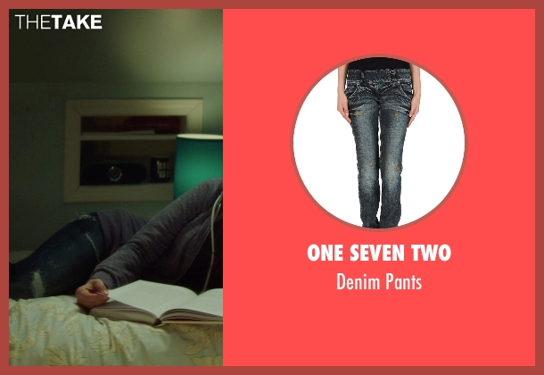 One Seven Two blue pants from If I Stay seen with Chloë Grace Moretz (Mia Hall)
