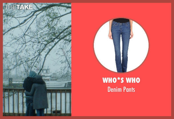 Who*s Who blue pants from If I Stay seen with Chloë Grace Moretz (Mia Hall)