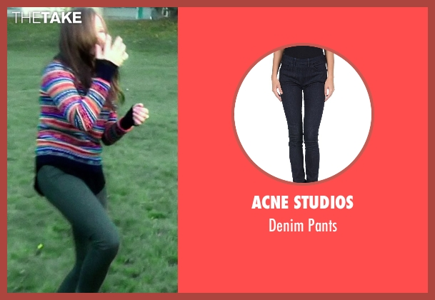Acne Studios blue pants from If I Stay seen with Chloë Grace Moretz (Mia Hall)