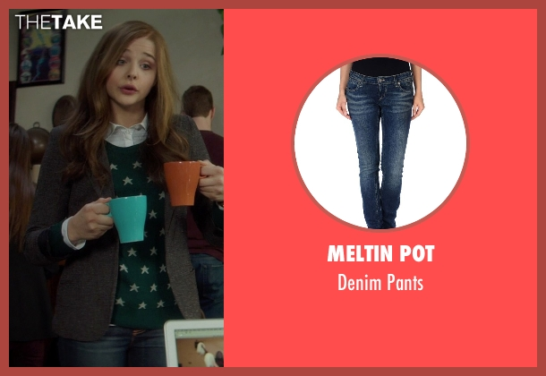 Meltin Pot blue pants from If I Stay seen with Chloë Grace Moretz (Mia Hall)