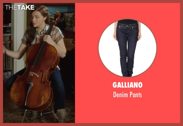 Galliano blue pants from If I Stay seen with Chloë Grace Moretz (Mia Hall)