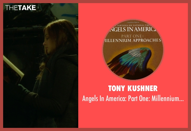 Tony Kushner book from If I Stay seen with Chloë Grace Moretz (Mia Hall)