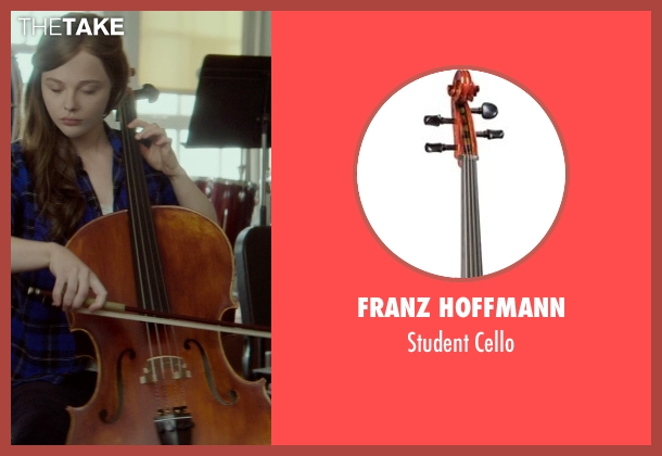 Franz Hoffmann cello from If I Stay seen with Chloë Grace Moretz (Mia Hall)