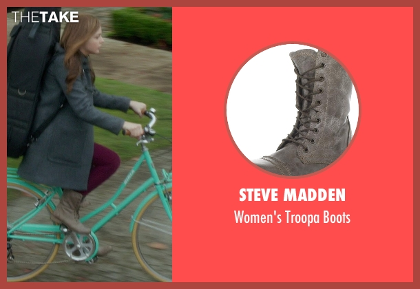Steve Madden gray boots from If I Stay seen with Chloë Grace Moretz (Mia Hall)