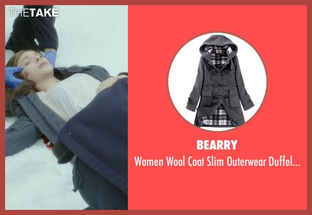 Bearry gray coat from If I Stay seen with Chloë Grace Moretz (Mia Hall)