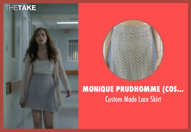 Monique Prudhomme (Costume Designer) gray skirt from If I Stay seen with Chloë Grace Moretz (Mia Hall)