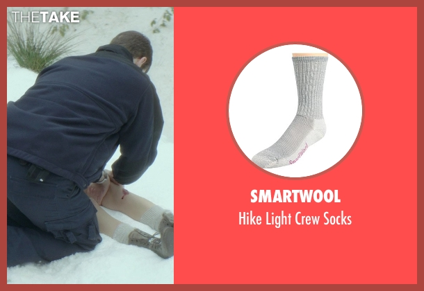 Smartwool gray socks from If I Stay seen with Chloë Grace Moretz (Mia Hall)