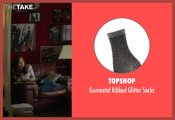 Topshop gray socks from If I Stay seen with Chloë Grace Moretz (Mia Hall)