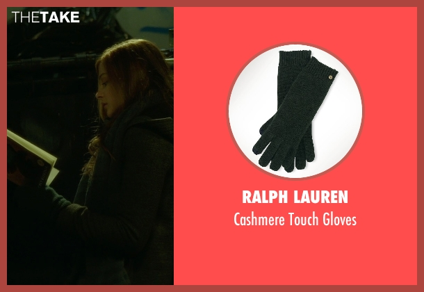 Ralph Lauren green gloves from If I Stay seen with Chloë Grace Moretz (Mia Hall)